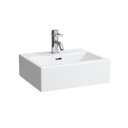 815432 - Laufen Living City 450mm x 380mm Small Washbasin - 8.1543.2